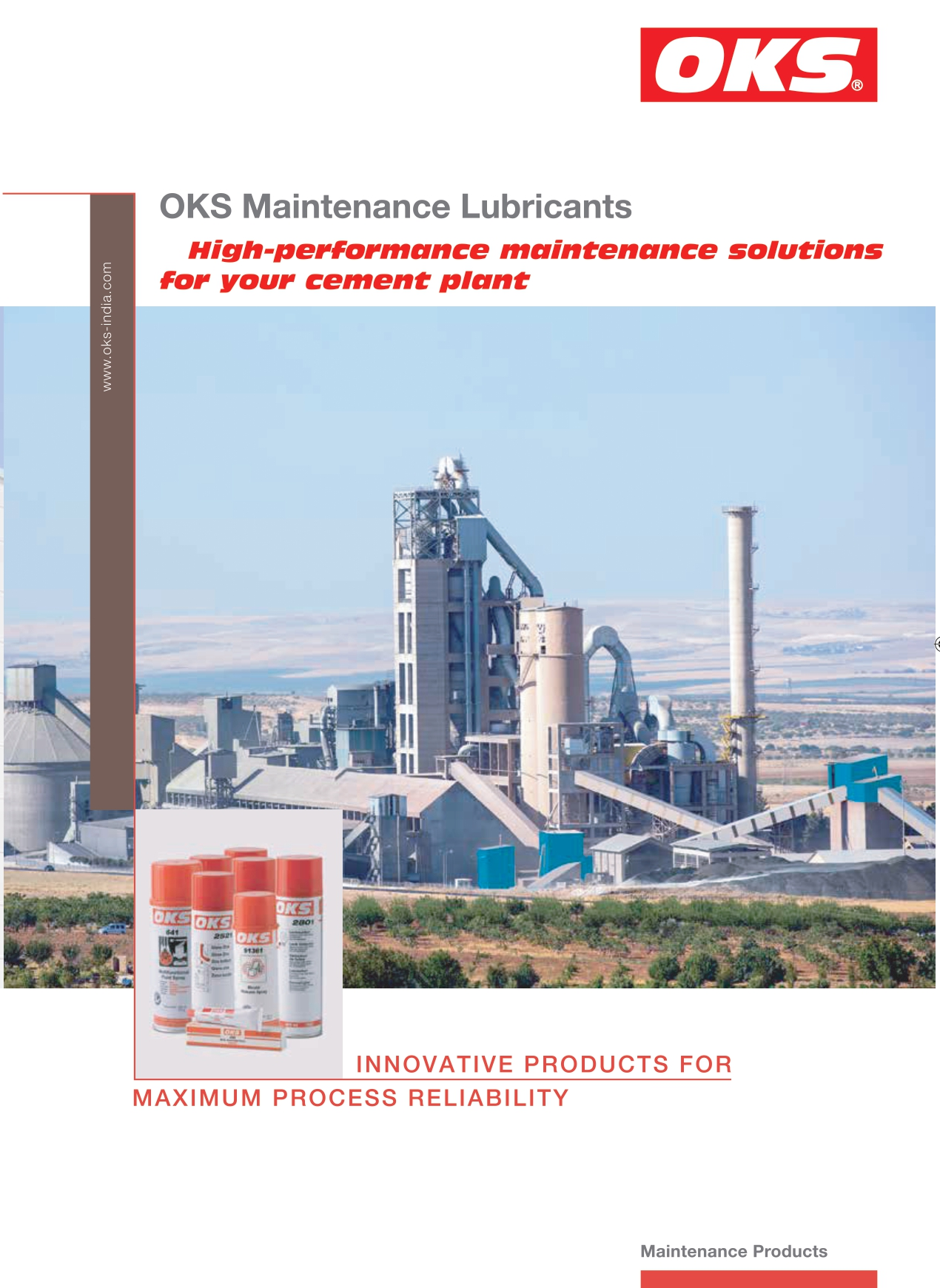 OKS Maintenance Lubricant for Cement Industry